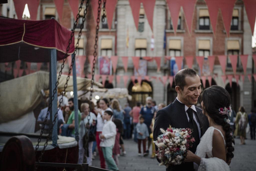 Preciosa boda en el NH Palacio del Duero